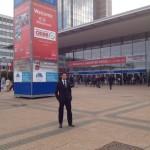 Hannover Messe 2012 main entrance