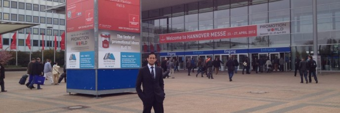 Hannover Messe 2012 main entrance