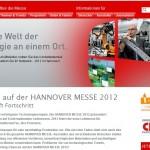 Hannover-Messe Website