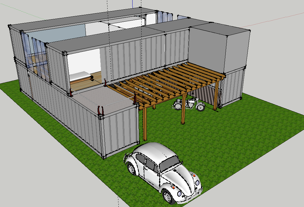 3d Container House Project Victory Software And Beyond
