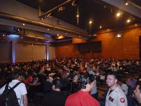 Audience at Embarcadero Conference Brazil 2014