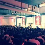 Jim McKeeth speaking for the big audience!